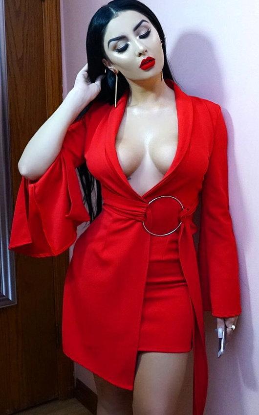 Livisa Wrap Kimono Dress