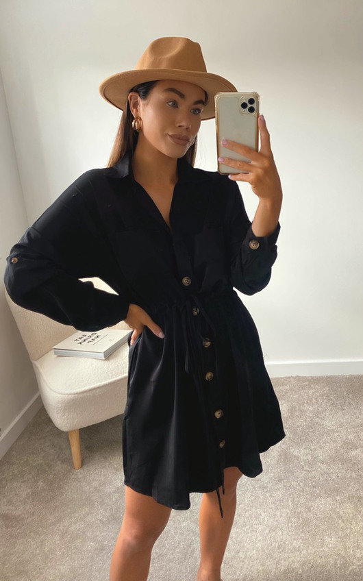 Lizzie Oversized Shirt Dress