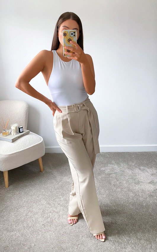 Lois Belted Tailored Trousers