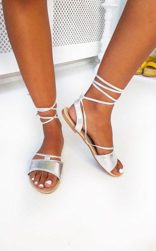 Lois Lace Up Sandals