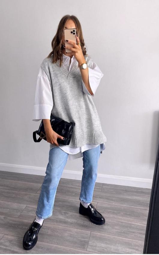 Lois Sleeveless Knitted Vest