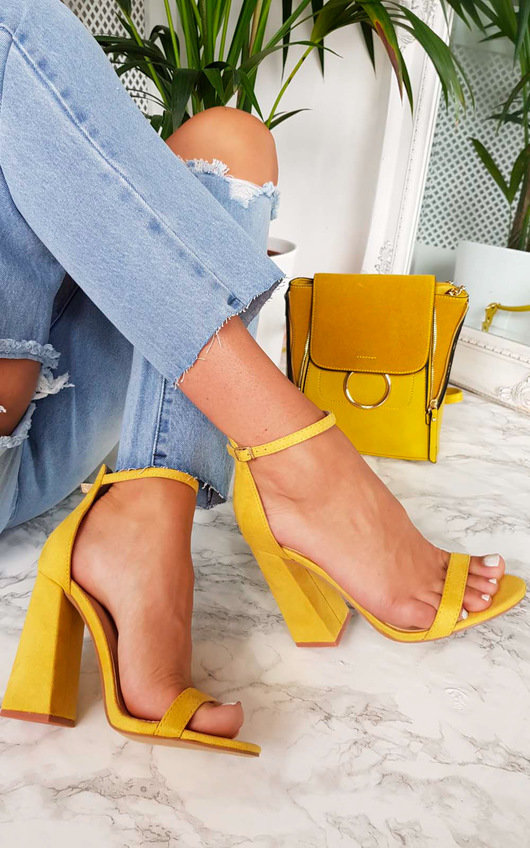 Lola Barely There Block Heels