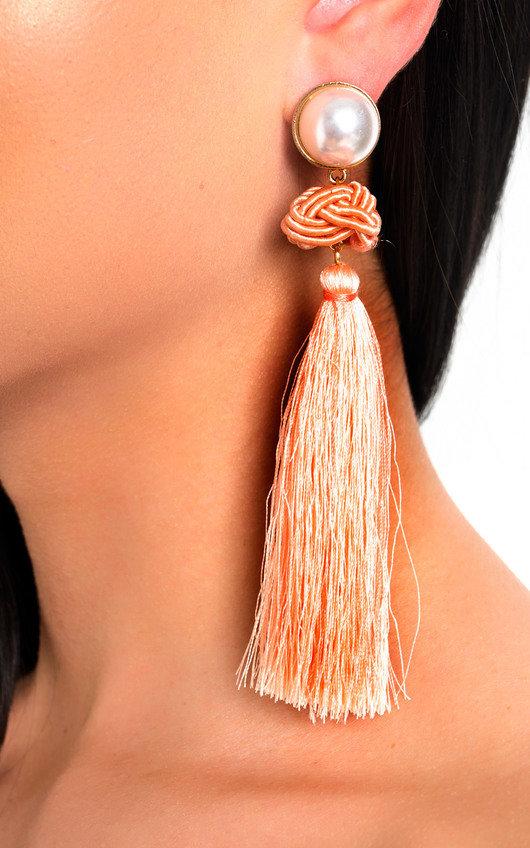Lolita Tassel Drop Earrings