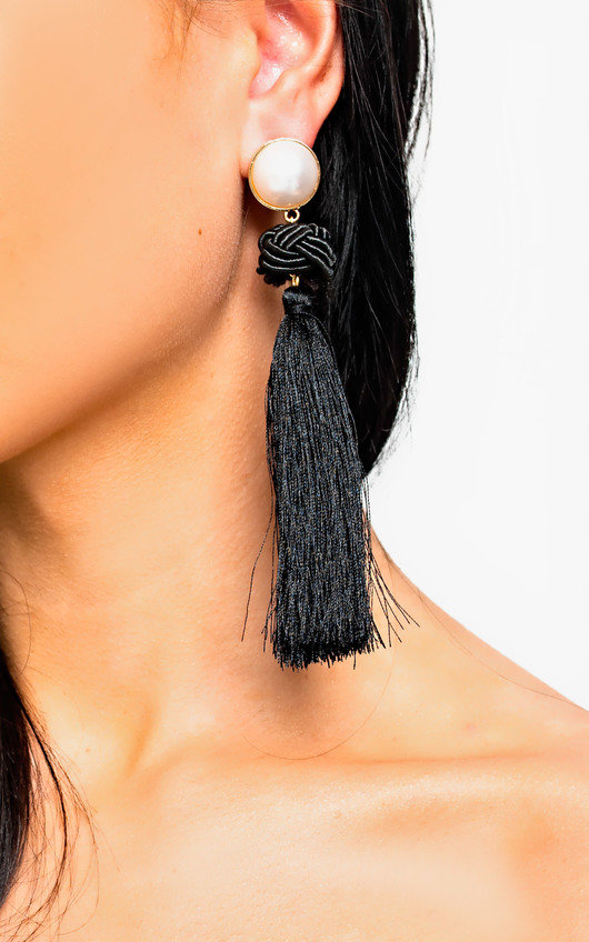 Lolita Tassel Drop Earrings