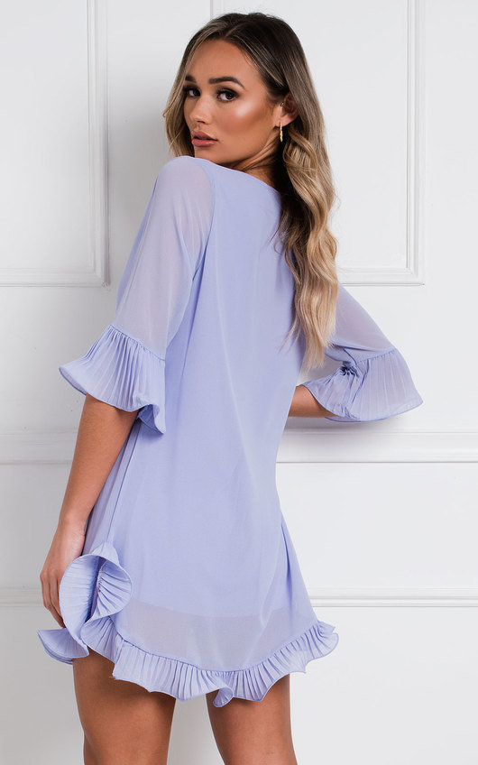 Lolo Frill Shift Dress