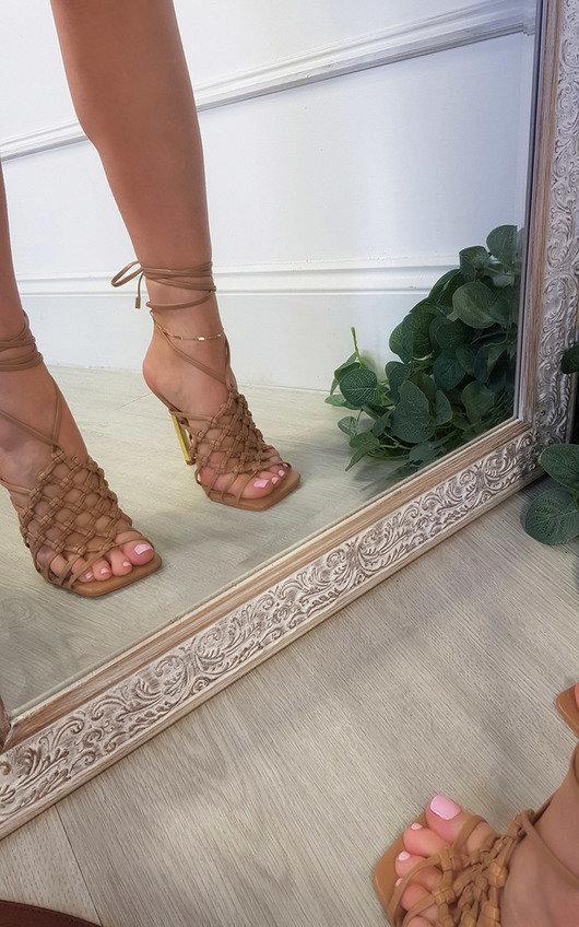 Lorena Strappy Heels