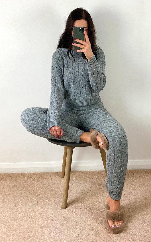 Loretta Cable Knit Co-ord
