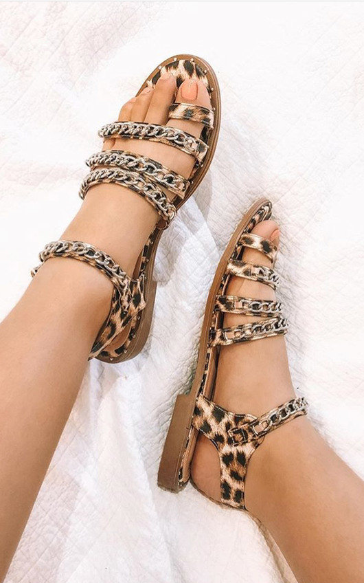 Lottie Chained Strappy Sandals