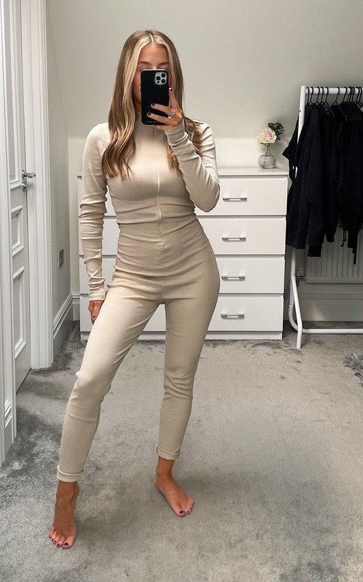 Lottie Long Sleeve Jumpsuit