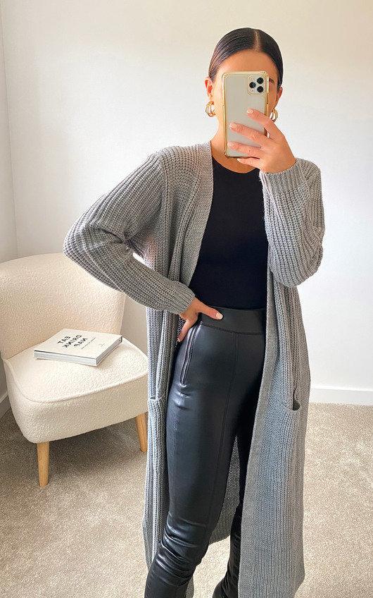 Lottie Longline Knitted Cardigan