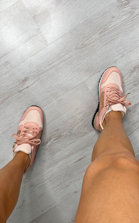 Louella Lace Up Trainers