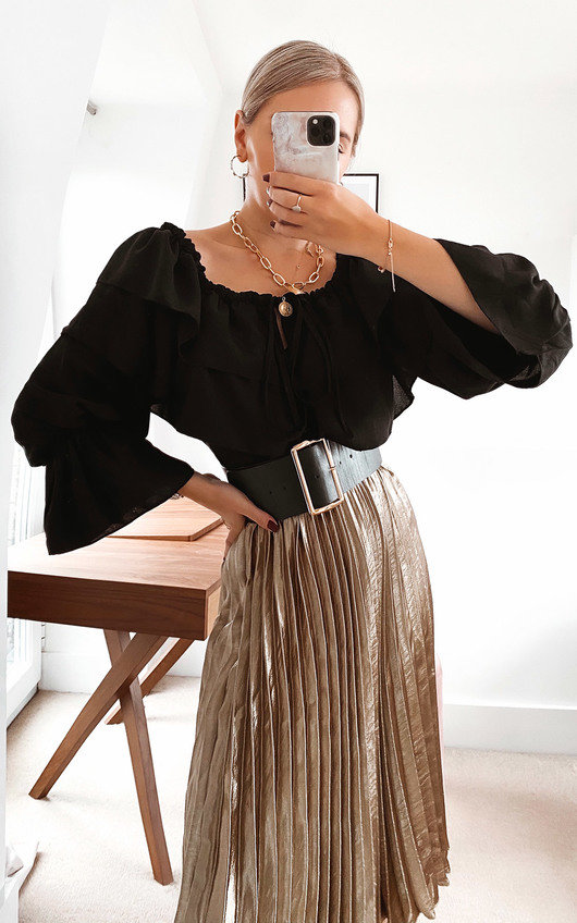 Louise Off Shoulder Layered Top