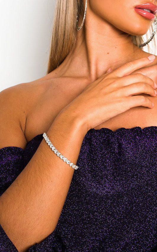 Love Diamante Bracelet