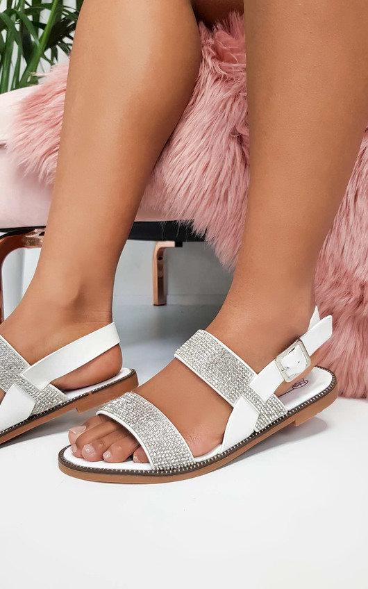 Luca Diamante Strappy Sandals