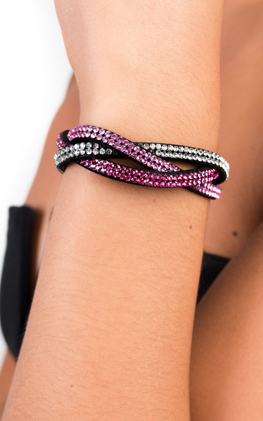 Luciana Diamante Popper Bracelet