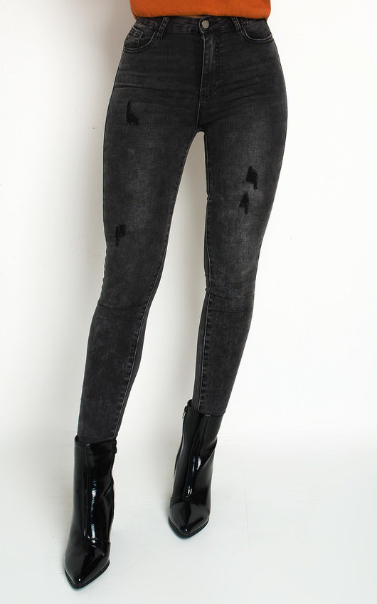 Lucie Distressed Skinny Jeans