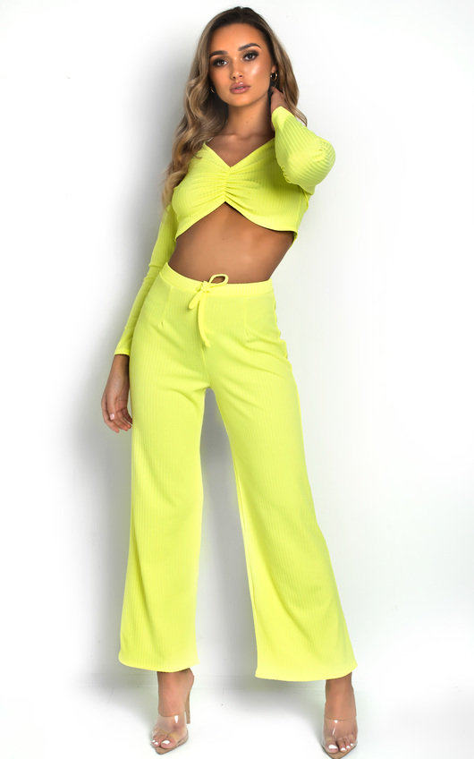 Lucie Ribbed Lounge Co-ord