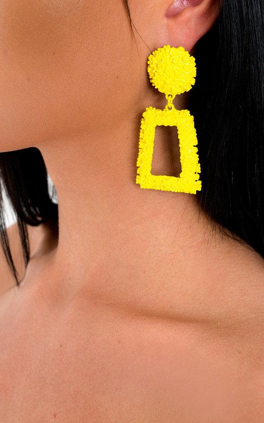 Lucy Statement Drop Earrings