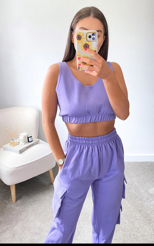 Lulu Pocket Cropped Co-ord