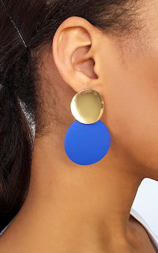 Lulu Statement Drop Earrings
