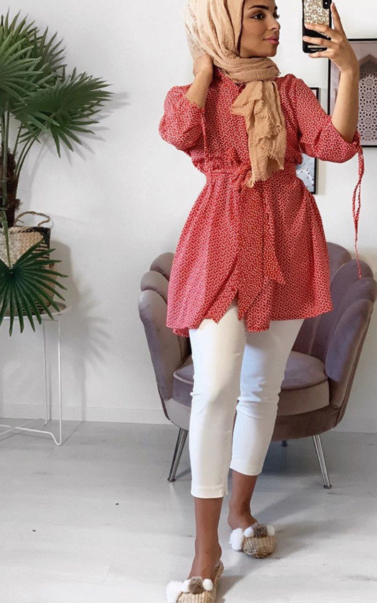 Luna Love Heart Shirt Dress