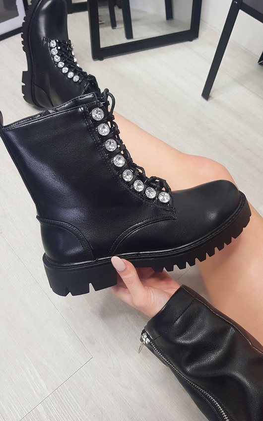 Lyndsey Lace Up Ankle Boot