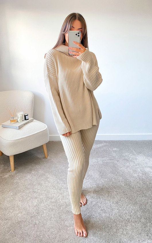 Lynette Ribbed Knitted Co-ord