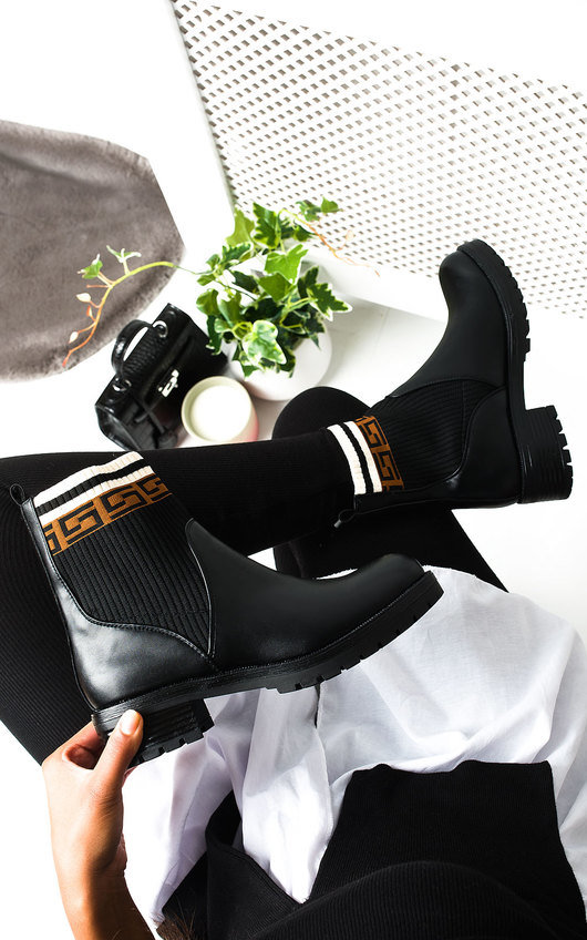 Lyra Printed Ankle Boots