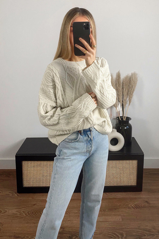 Mabel Cable Knit Jumper