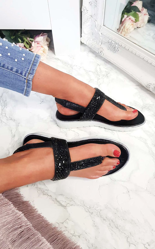 Maddie Embellished Sandals
