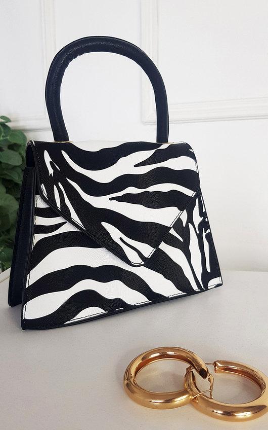 Maggie Animal Print Handbag