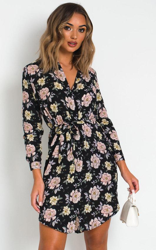 Maisie Shirt Midi Dress