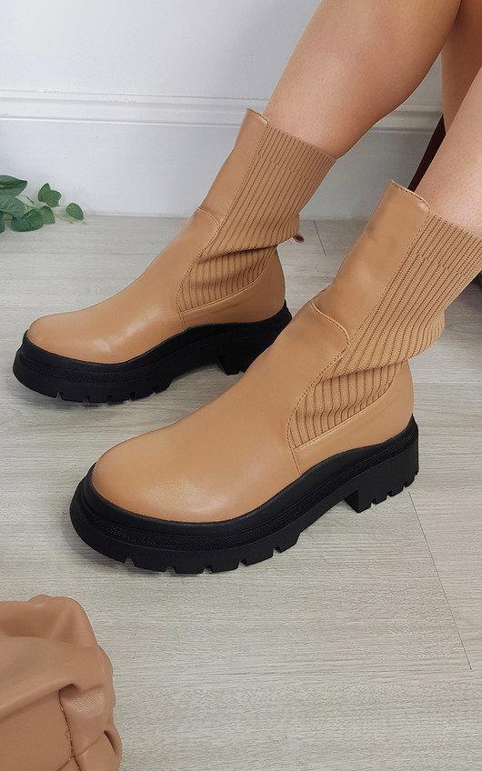 Malisha Chunky Mid Calf Boots