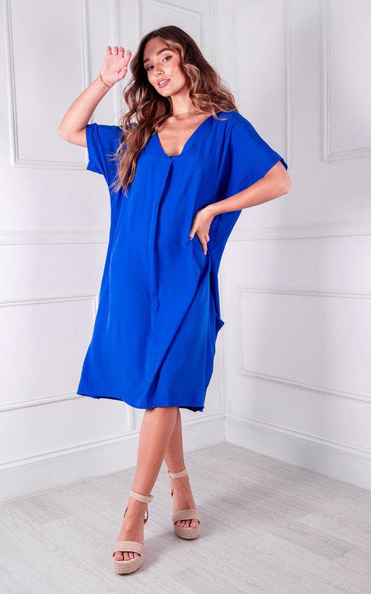 Maren V Neck Midi Dress