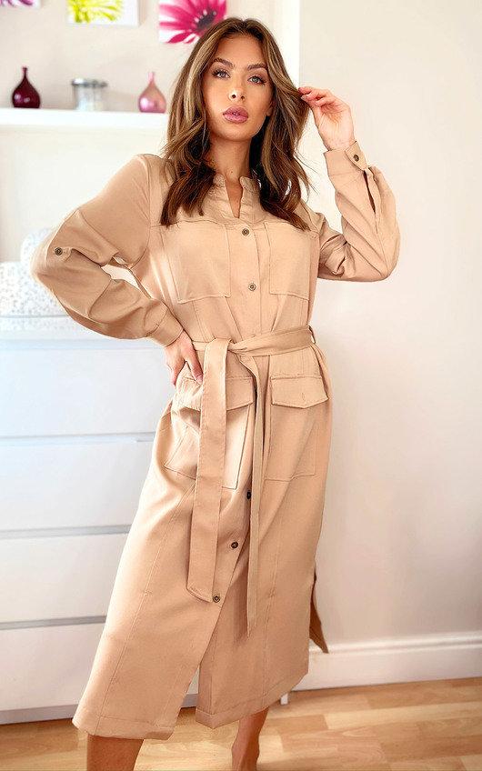 Margo Midi Shirt Dress