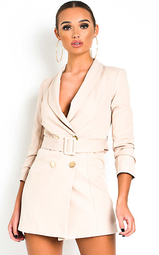 Margot Belt Blazer Dress