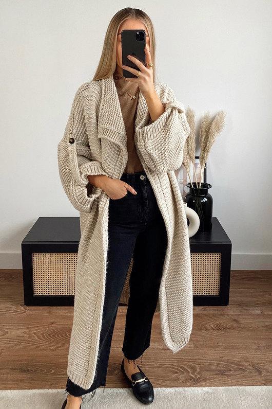 Margot Longline Knitted Cardigan