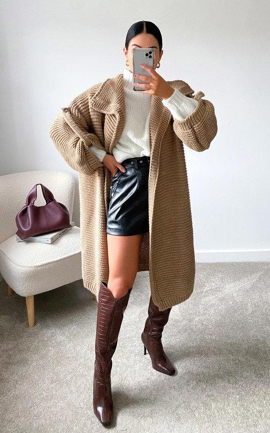 Lauren Longline Knitted Cardigan