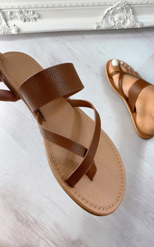 Marie Strappy Slip On Sandals