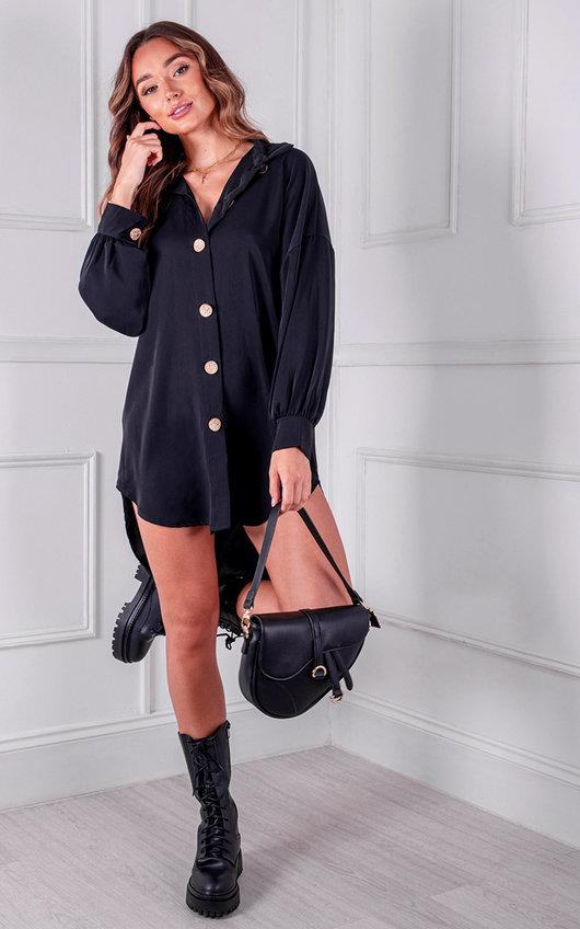 Marissa Button Up Shirt Dress