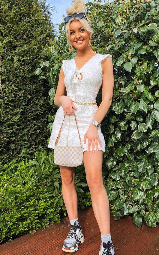 Marissa Crochet Lace Mini Dress