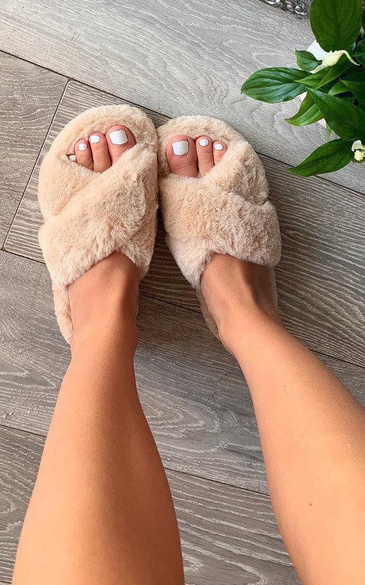 Marissa Faux Fur Slippers
