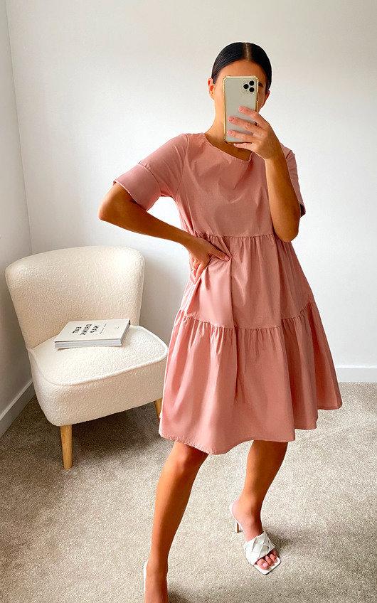 Marissa Layered Shift Dress