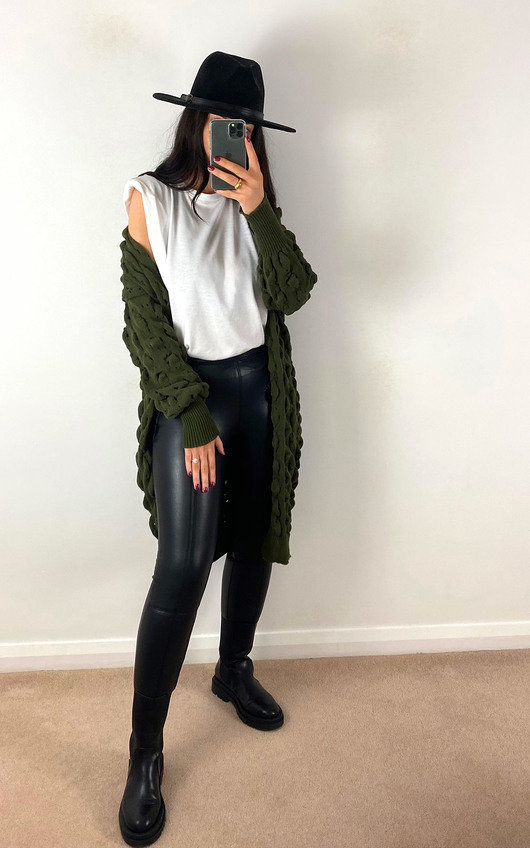 Marley Cable Knit Cardigan