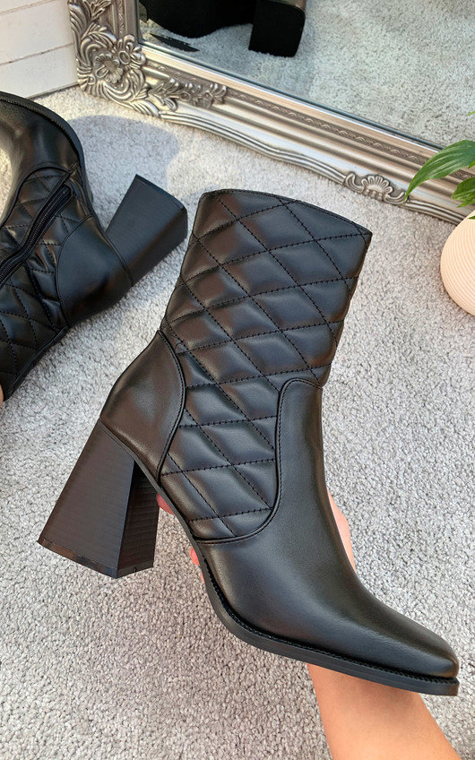 Marley Heeled Ankle Boots