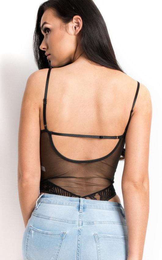 a79bf4c7da6 Marlin Lace Bodysuit in Black | ikrush