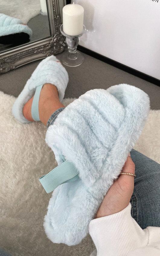 Marsha Faux Fur Slippers