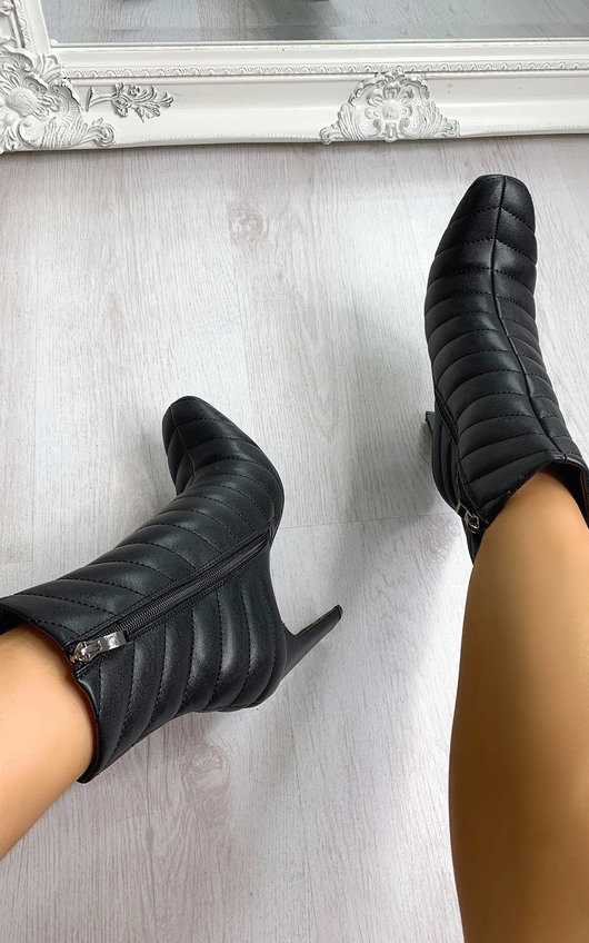 Martha Heeled Ankle Boots