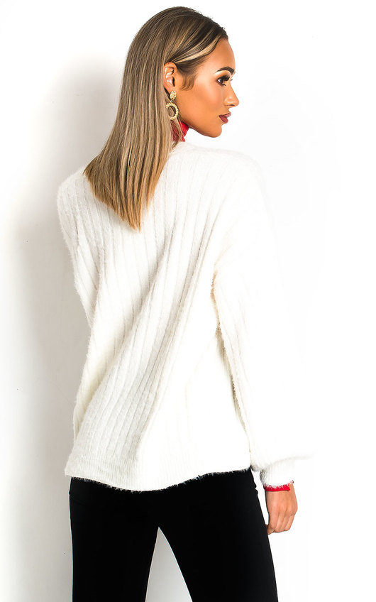 Masi Fluffy Knitted Cardigan