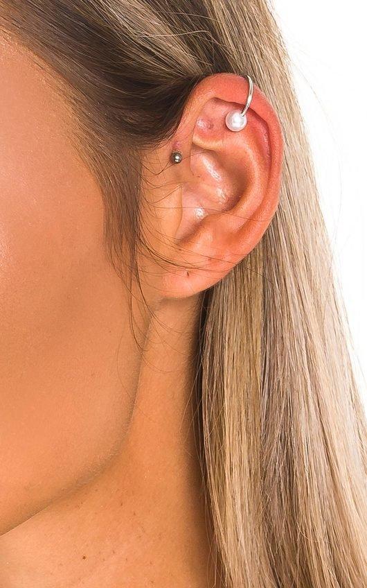 Matilda Pearl Ear Cuff